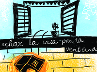 Detail of Editorial Illustration