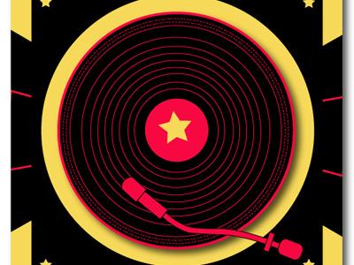 Bangalore Bass Massive illustration vector music