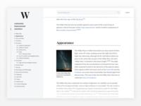Wikipedia Layout Concept 2