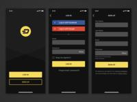App Login & Signup