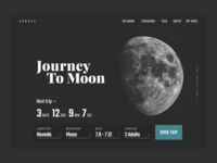 Journey To Moon Concept