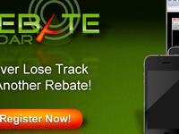 Rebate Radar Homepage