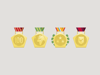 Medals Footbaholic app
