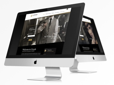 Website Template for Luxury Estate Agency