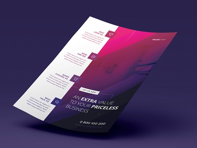 Corporate Flyers - 6 Multipurpose Templates vol 12 | JellyBanana a4 multipurpose corporate business ad magazine flyer template