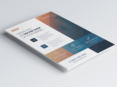Corporate Flyers - 6 Multipurpose Templates vol 13 | JellyBanana a4 multipurpose corporate business ad magazine flyer template