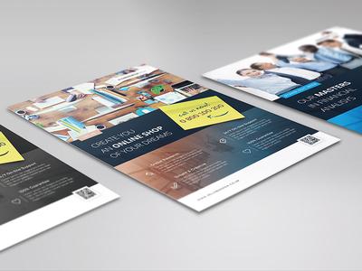 Corporate Flyers - 6 Multipurpose Templates vol 23 | JellyBanana a4 multipurpose corporate business ad magazine flyer template