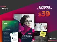 Corporate Flyer Bundle 162 PSD - 80%OFF