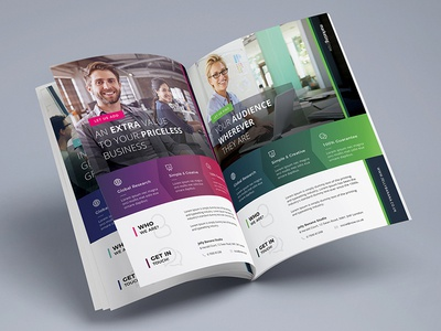 Corporate Flyers - 6 Multipurpose Templates vol 28 | JellyBanana template multipurpose magazine flyer corporate business ad a4 wip