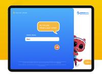 iPad App for Marco Polo World School for Kids - login / sign up sign up signup kids app kids login interactions ixd ui ux onboarding ipad app game ipad marcopolo