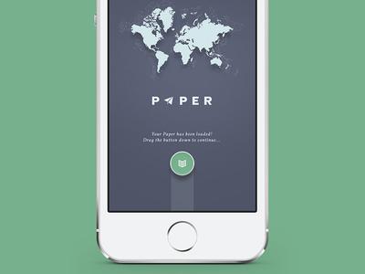 Paper App Loading Screen - loaded!