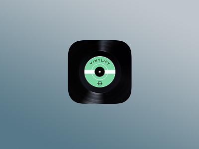 Vinylify App Icon vinylify vinyl app icon