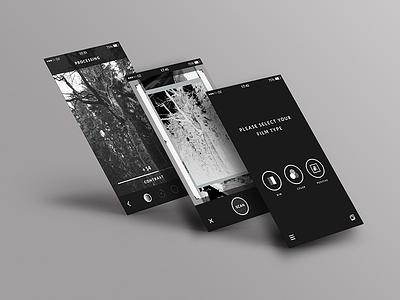 Filmscanner UI rebrush helmut filmscanner scanner ui app ios