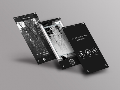 Filmscanner UI rebrush