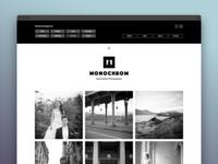 Monochrom Website | Menu