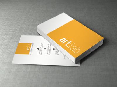 Artlab visitenkarten