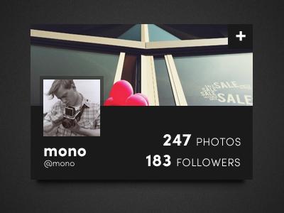 Profile card2