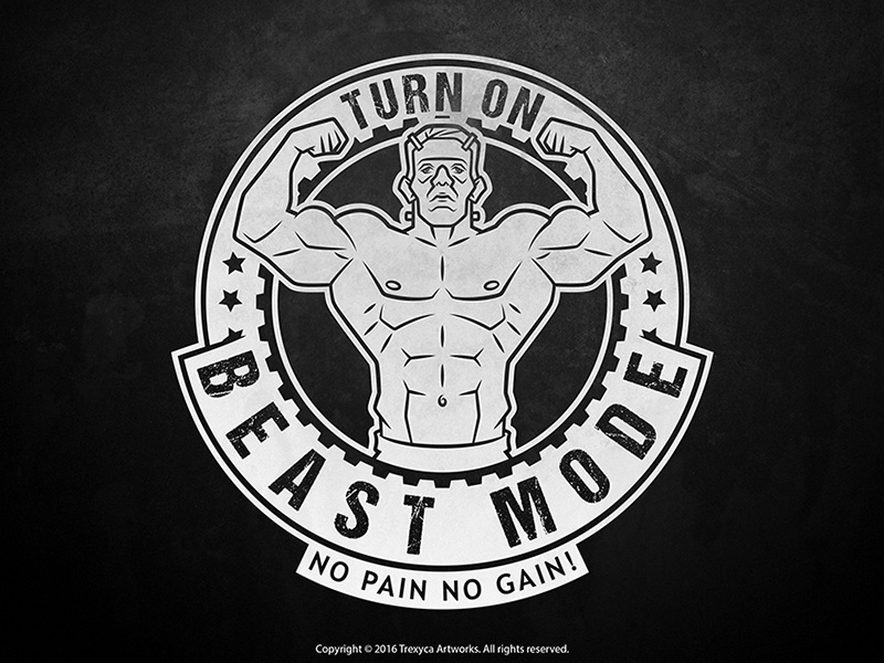 Gym Beast Mode Logo