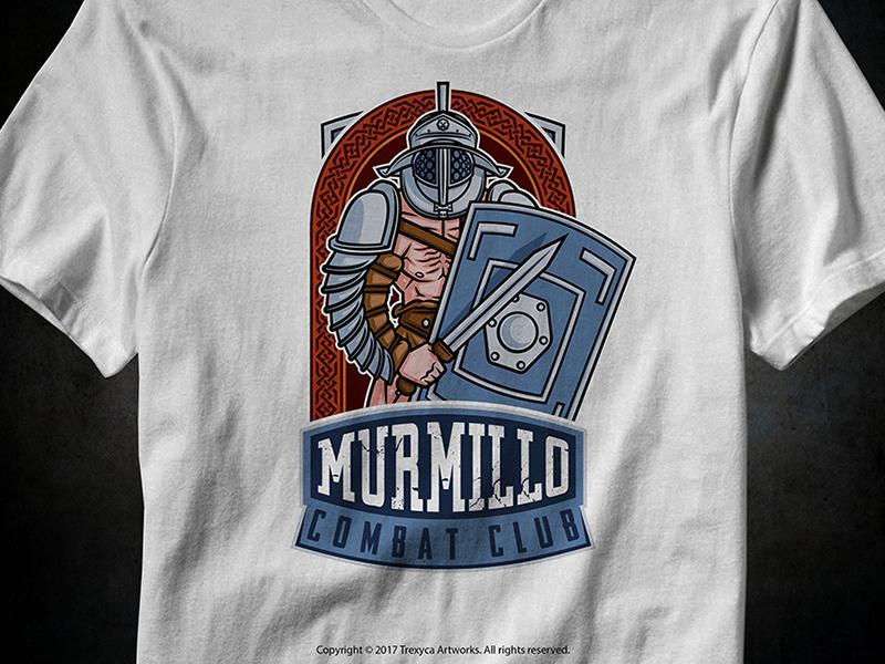 Murmillo Combat Club T-Shirt by Trexyca Artworks on Dribbble