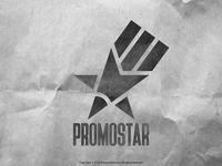 Promo Star Logo  (Black and White)