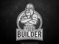 Mascot Logo for a Construction Company