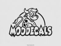 MooDecals Logo  (Black & White)