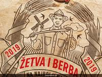 Gebi Zetva i Berba T-Shirt Design 2019