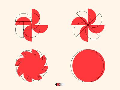 METAMORPHOSIS logo graphic pattern design