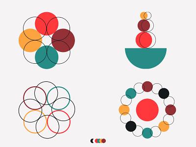 DISTORTION pattern branding illustration graphic design