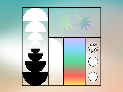 2.1.09 pattern poster graphic gradient