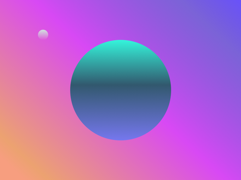 Alternate Planets 2 design graphic shot gradient planet