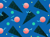 80's inspired Pattern
