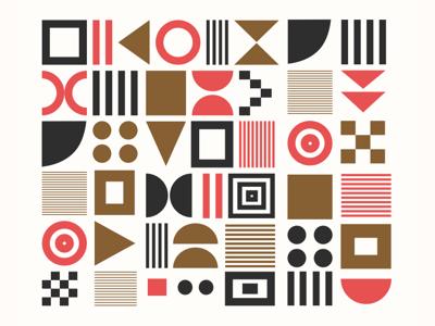Geometric Vector Pattern pattern geometric