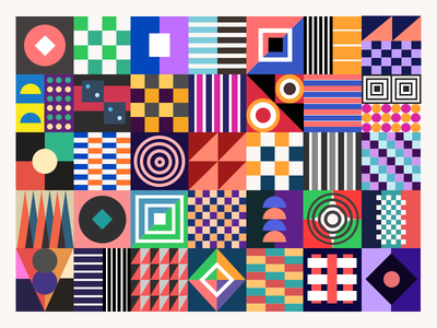 More Patterns shapes pattern color geometric pattern