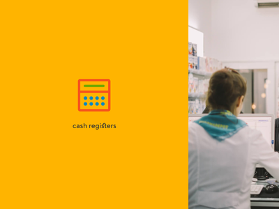 Ivideon Cash Register control register cash register cash cloud ivideon service app rebranding typography branding concept logo surveillance figma design