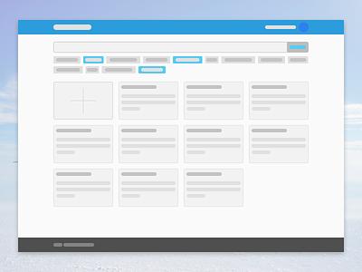 Cloudytool App prototype webapp ux grid startup prototype concept app cloudytool design figma ui web
