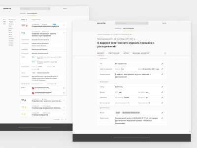 Government Documents System title tabs document erp system webapp government more belgorod ux app ui figma design web
