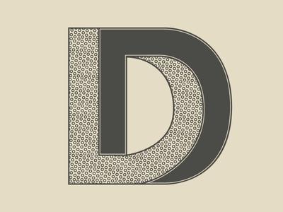 #Typehue Week 4: D d optical illusion typehue typehuepurist type typography letter