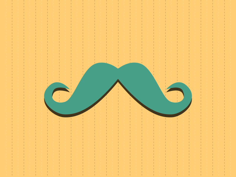 #Typehue Week 13: M typehue type letter m illustration moustache