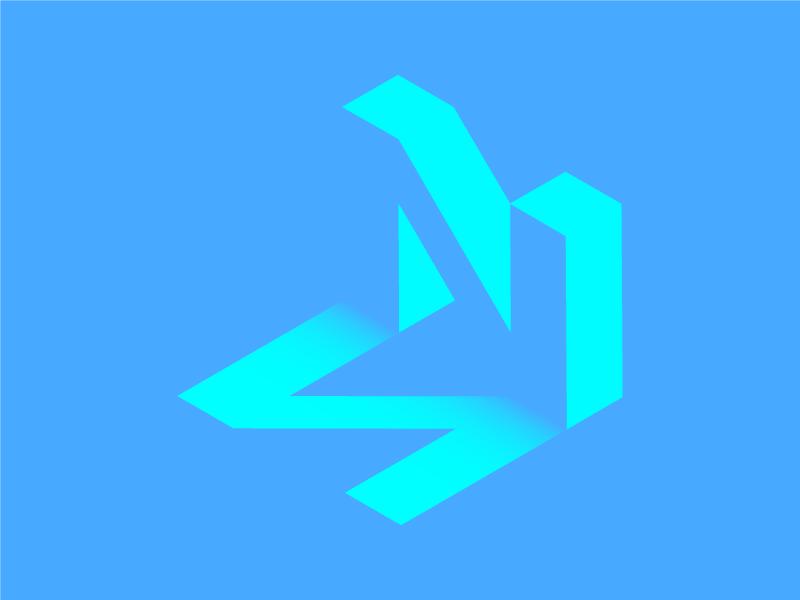 #Typehue Week 14: N negative space n letter type typehue
