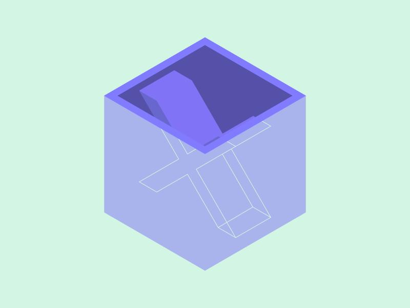 #Typehue Week 24: X typehue isometric x-ray x