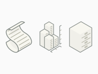Shopanalyst Icons simple icons isometric