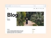 Blog by Katarina Fegraeus