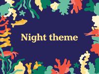 Under the Sea - Night theme