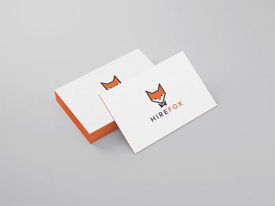 HireFox frontify vector logodesign logotype logo fox logo fox
