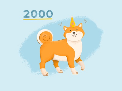 Doggo Illustration doggo dog illustration instagram illustration dog