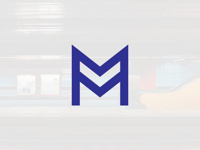 Metro / Subway logo concept