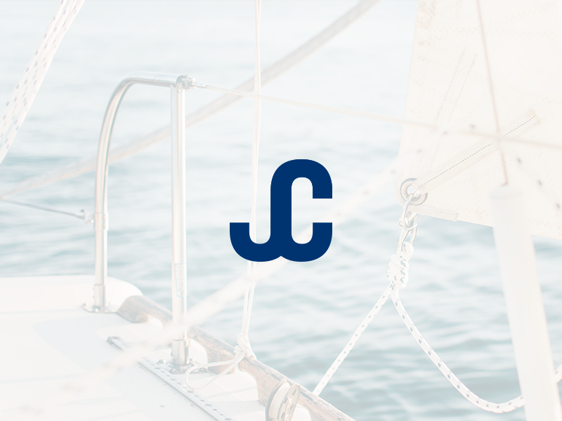 J. Coleman -  Docking & Anchoring Equipment logo designer anchor branding mark logo