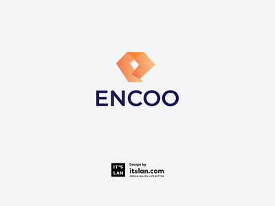 ENCOO deisgn graphic illustration branding logo design logotype logo