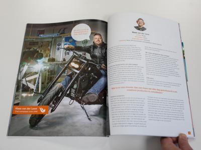 Haan Reclamewerk magazine
